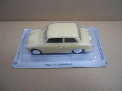 MV41-2 Legendary Cars AWZ P70 LIMOUSINE 1:43 Die Cast