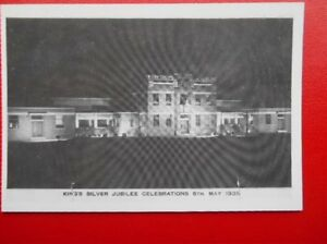 POSTCARD-SOCIAL-HISTORY-FENTON-WORKSHOPS-FOR-BLIND-KINGS-SILVER-JUBILEE-CELEBRAT