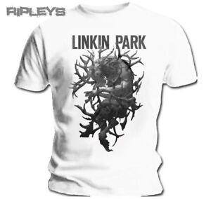 Official-T-Shirt-Linkin-Park-Blanc-Bois-la-partie-de-chasse-toutes-tailles