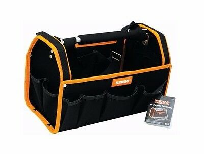 TOOL BAG CADDY ALL PURPOSE KENDO STURDY ALUMINIUM FRAME PADDED HANDLE STRAP H27