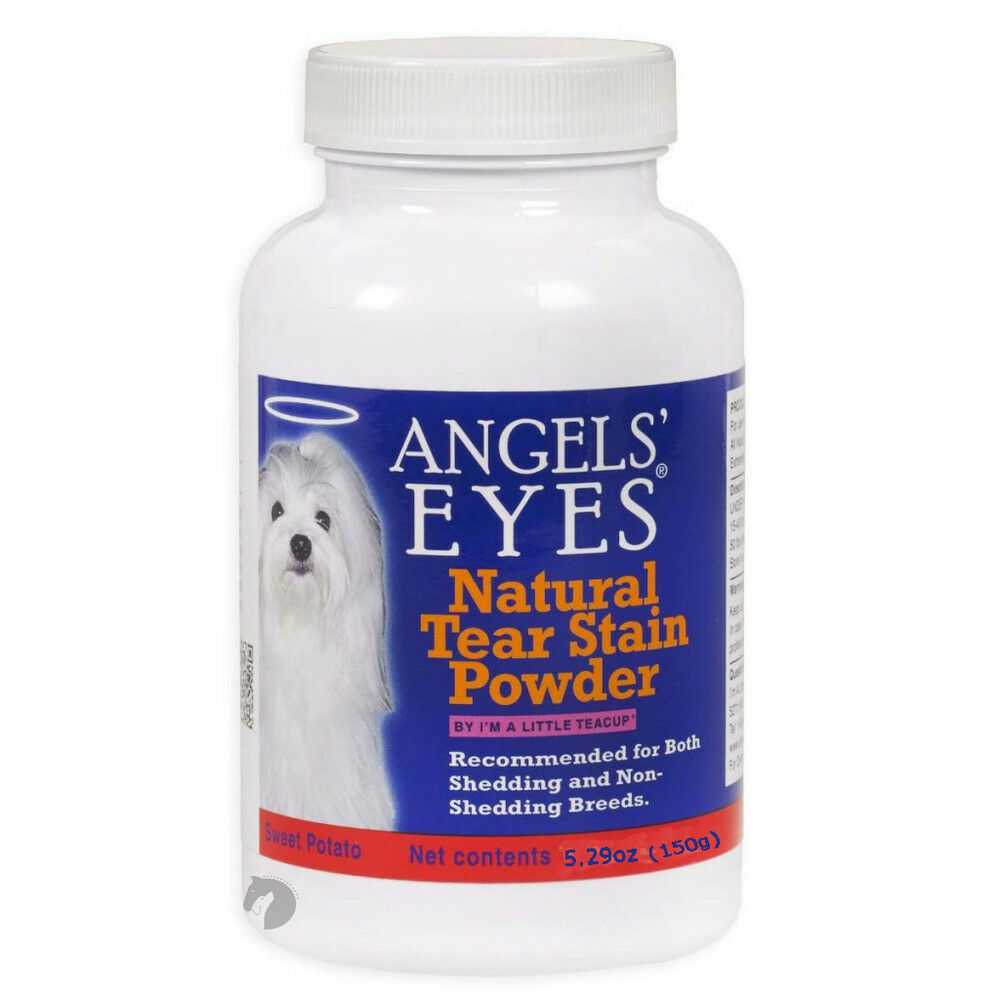 New Angels' Eyes Natural Tear Stain Remover for Dogs+Cats Dogs+Cats Dogs+Cats Sweet Potato Flav150g bf393a