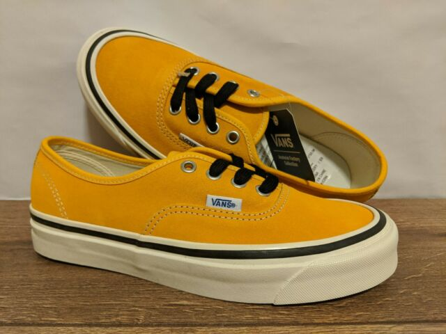 Vans New Authentic 44 DX Anaheim Factory SuedeOG 34 Gold Lady Shoes Size USA 7