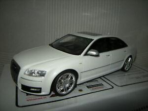 1-18-Otto-Mobile-Audi-a8-s8-type-d3-White-Blanc-LIMITED-1-OF-999-pc-dans-neuf-dans-sa-boite
