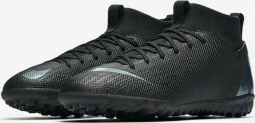 NIKE Jr Superfly 6 Academy GS TF Boys Turf Shoes Size 1 2 3 Y Black AH7344-001