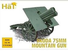 Hat 1/72 8244 WWI / WWII Skoda 75mm Mountain Gun