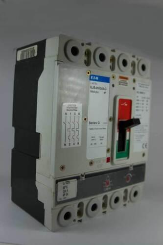 Eaton 4 Pole 100 Amp 40kA 3 Phase Breaker Series G MCCB GJS4100AAG