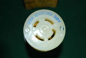 Hubbell Connector Body HBL2753 Twist-Lock 30A NEW