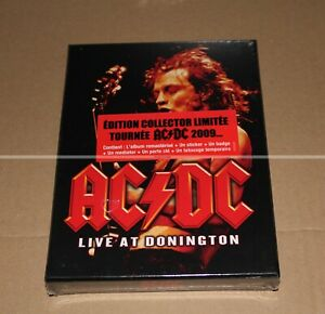 AC-DC-LIVE-AT-DONINGTON-DVD-FAN-PACK-LIMITED-EDITION-NEUF