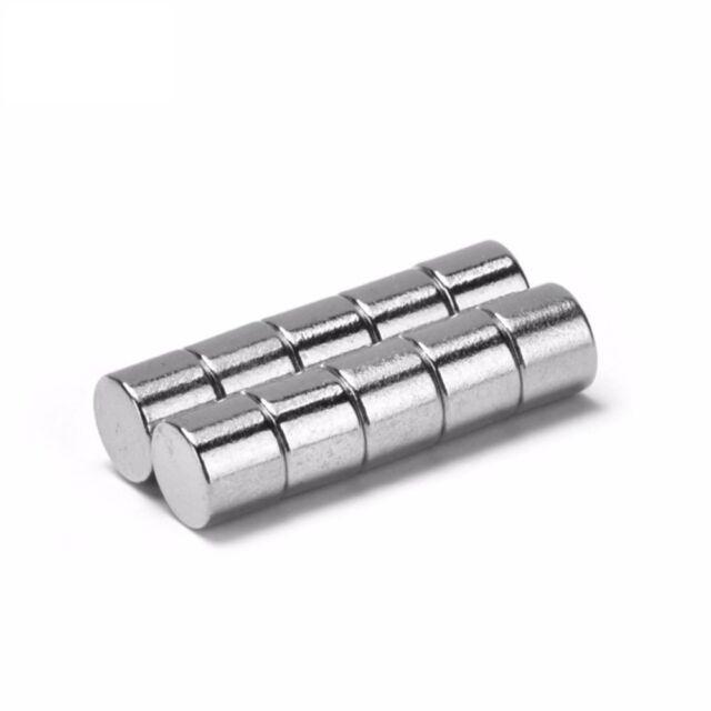 5x Neodym Scheiben Magnete Ø4 x 2 mm N45 420g Haftkraft NdFeB D4x2 mm rund