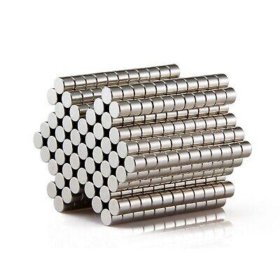 60 PCS Mini Strong Fridge Magnets Neodymium Magnetic Crafts Whiteboard Push Pins