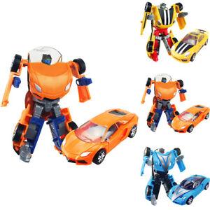 3 Types Car Transforming Robot Toys Tobot Mini Series Boy Kid
