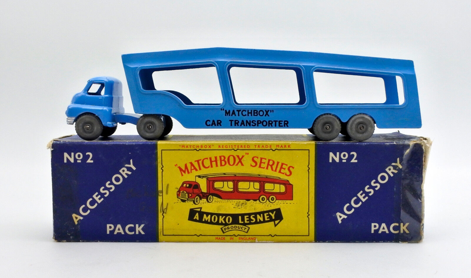 MATCHBOX A2 DIECAST MATCHBOX CAR TRANSPORTER