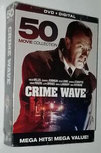 Crime Wave 50 Movie DVD Box Set Bela Lugosi, Boris Karloff, Orson Welles, Chaney 826831071626