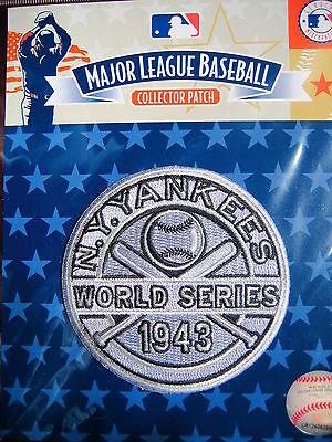 Mlb New York Yankees 1943 World Series Champions Abzeichen Clear-Cut-Textur Baseball & Softball Weitere Ballsportarten
