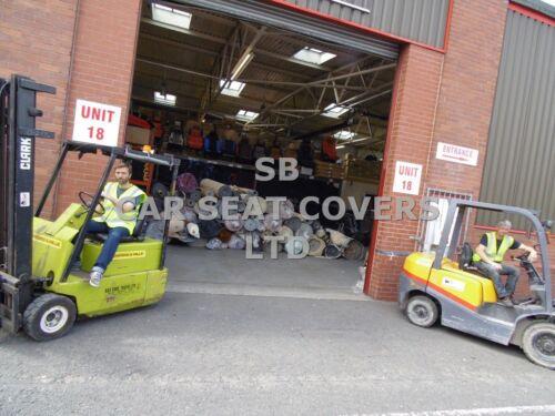 Sitzbezüge Grau Vrx Sport I Komplettset Passend für Citroen C3 Auto