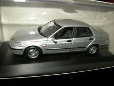 1:43 Minichamps Saab 95 Limousine Sedan silber/silver OVP