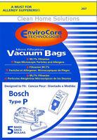 Bosch Type P Allergy Vacuum Cleaner Bags Bbz52afp2u