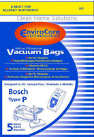 Bosch Type P Allergy Vacuum Cleaner Bags Bbz52afp2u