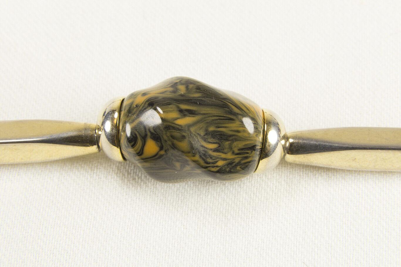 Iconic Vintage Lanvin Paris Modernist Necklace 19… - image 5