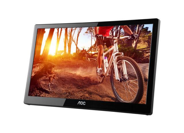 AOC E1659FWU 15.6″ USB Powered Portable LED Monitor