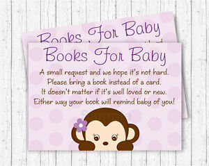 photograph about Printable Baby Shower Card titled Facts concerning Pink Monkey Printable Boy or girl Shower Guide Question Playing cards