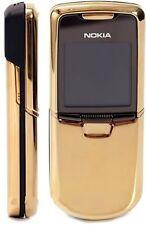 Nokia 8800 Gold Edition Unlocked 128 MB Internal Memory 2.0 MP Camera