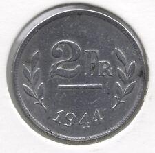 2 frank 1944 frans/vlaams * LEOPOLD III *