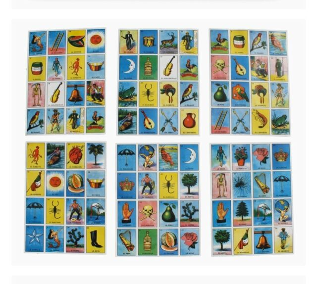 Chicos Electric Bingo 24 Cards Chic22302 For Sale Online Ebay