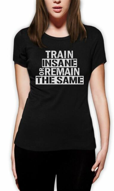 Train Insane Or Remain The Same Sweatshirt Workout Motivation Bodybuilding Gym