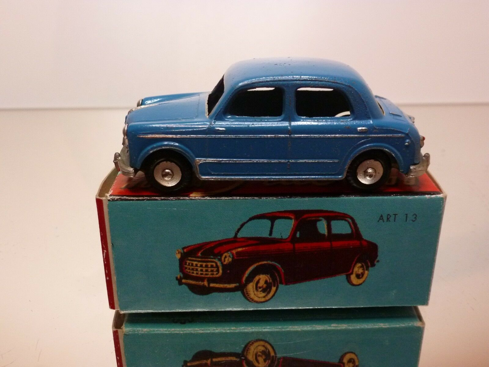 MERCURY 13 FIAT 1100 NUOVA - blu 1:43 - GOOD CONDITION IN BOX