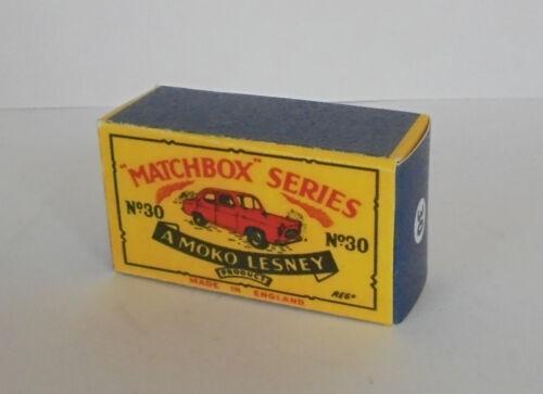 Repro Box Matchbox 1:75 Nr.30 Ford Prefect