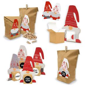 Geldgeschenke Weihnachten.Itenga Wichtelbande Geschenkverpackung Weihnachten