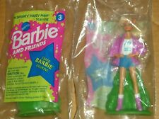 1994 McDONALD'S KIDS MEAL TOY-BARBIE & FRIENDS-CAMP BARBIE-NEW!