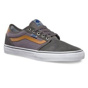 f406627643 VANS Lindero 2 (Herringbone Twill) Grey White PRO Shoes MEN S 6.5 ...