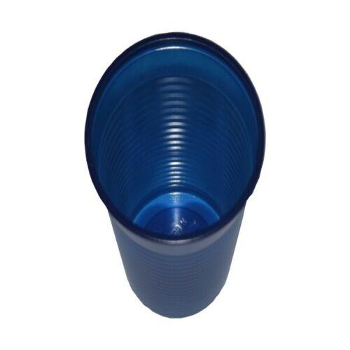 100 Plastikbecher Einwegbecher Trinkbecher Mundspülbecher Becher blau 0,15l