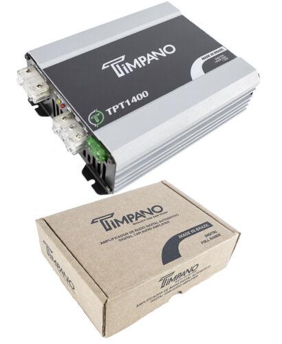 1400W Digital Micro Mono Block Amplifier 1ohm Mini Car Audio Amp Timpano TPT1400