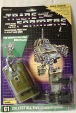 Transformers Original G1 Combaticon Brawl Complete W/ Card back 1986 Hasbro
