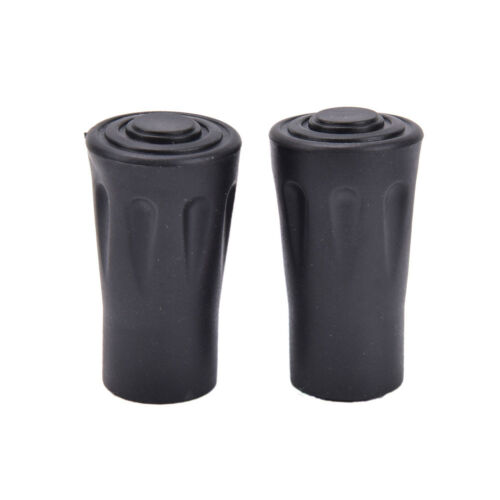 2x Outdoor Rubber Tip End Cap Hammers Trekking Pole Hiking Stick RC