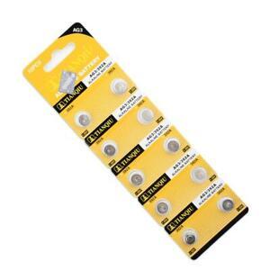10pcs-AG3-384-392-SR41W-SR41-L736-Alkaline-Coin-Cell-Button-Batteries-For-Watch