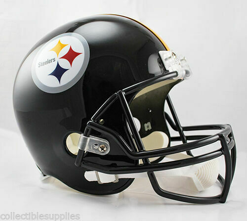 RIDDELL PITTSBURG STEELERS REPLICA HELMET MINT IN BOX NEVER OPENED  ALL INSERTS