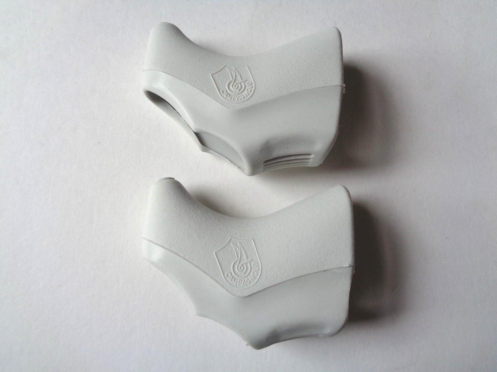 NOS Vintage 1980s 90s Campagnolo C Record Delta White Aero brake lever hoods