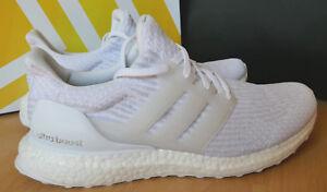 Details zu adidas Ultra Boost 3.0 weiß UK9 Gr.43 BA8841 Sneaker Herren  Freizeit Neu OVP