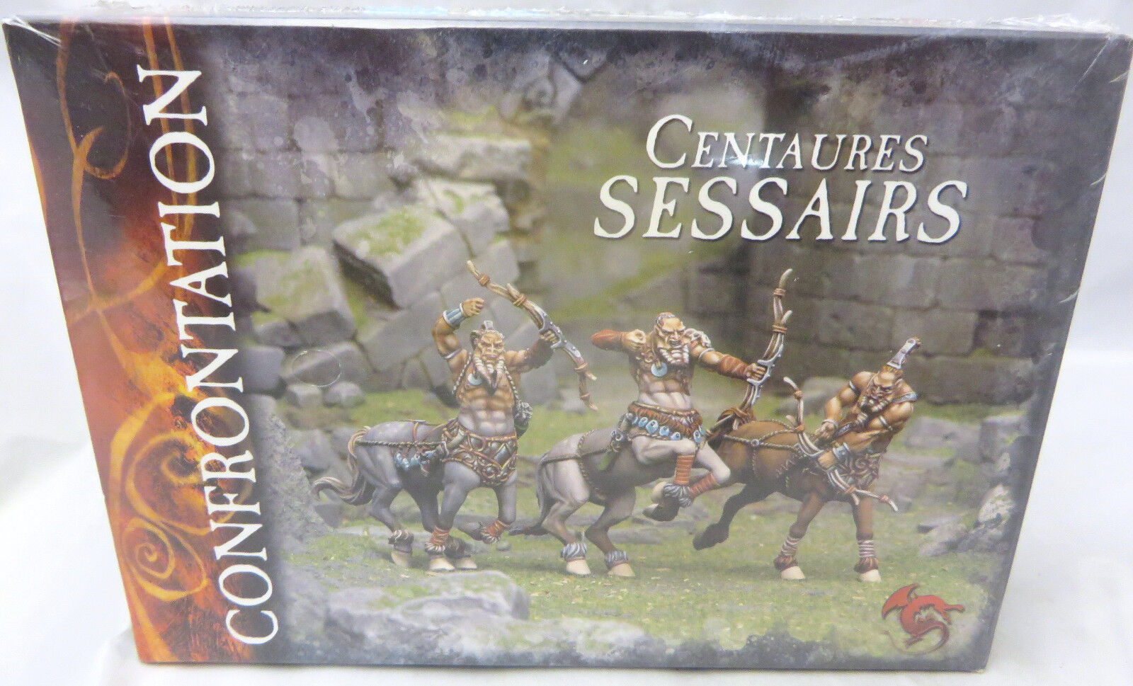 CONFRONTATION - SESSAIRS KELTS - NIB in shrink RARE centaurs oop metal