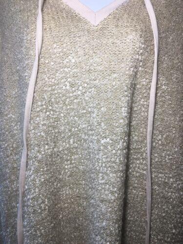 piccolo donne cavalletto New Boutique trama lunghe maglione maniche a con testurizzata d'avena PwHz1qw