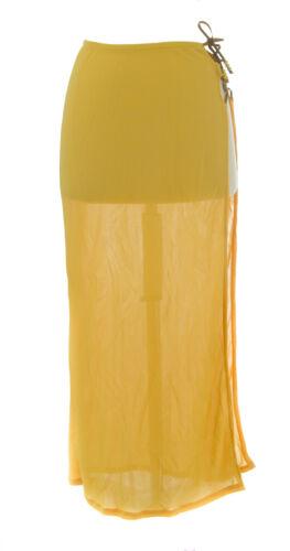 Lunga Gabbana Scialle Donna Gonna Prendisole i Usa Giallo 30 Dolce gYOAq