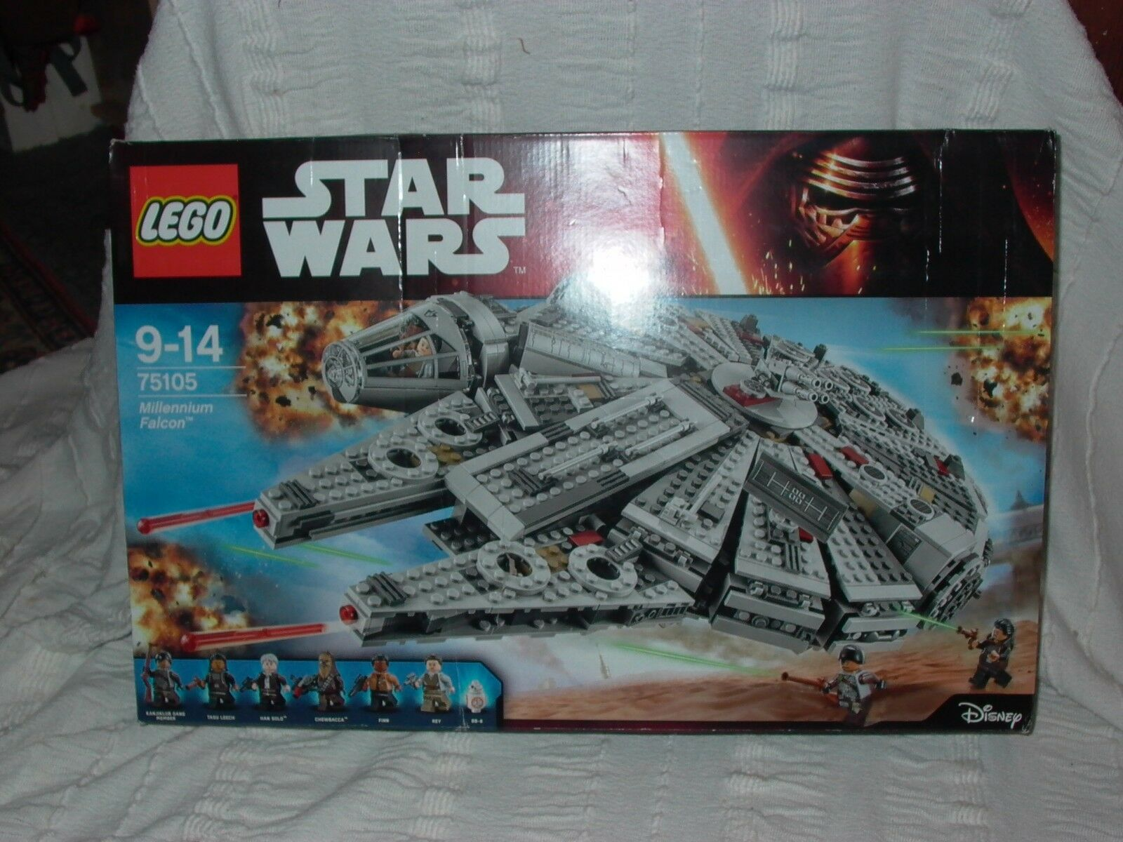 LEGO Star Wars Millennium Falcon (75105) unopened new in box