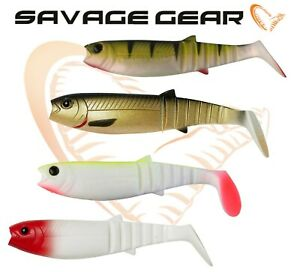 New-Savage-Gear-Cannibal-Shad-12-5cm-5-034-pack-Soft-Plastic-Bait-Fishing-Jig-Lure