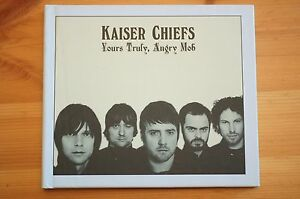 Rare-Kaiser-Chiefs-Special-CD-DVD-Book-Yours-Truly-Angry-Mob-Exc-Orig-Condition