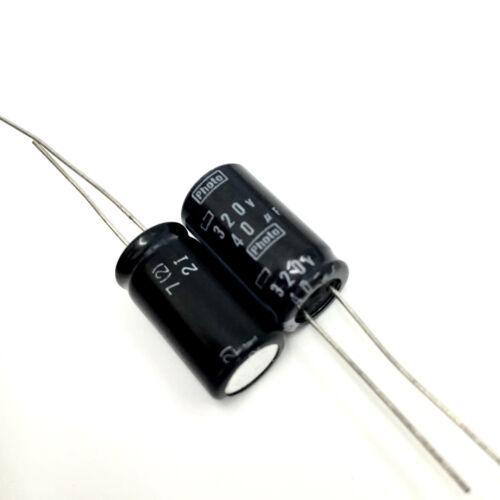 10pcs Nippon Photo Flash PH capacitor 320V40uf 320V 10x18mm