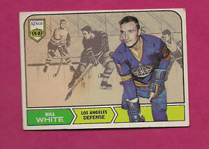 1968-69-TOPPS-37-KINGS-BILL-WHITE-ROOKIE-EX-CARD-INV-0347